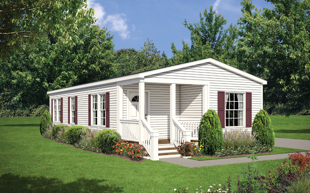 The Willow manufactured home design
