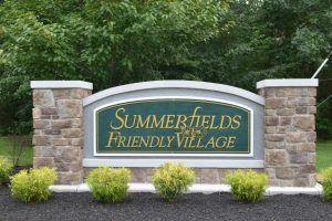 Entrance to Summerfields Friendly Village