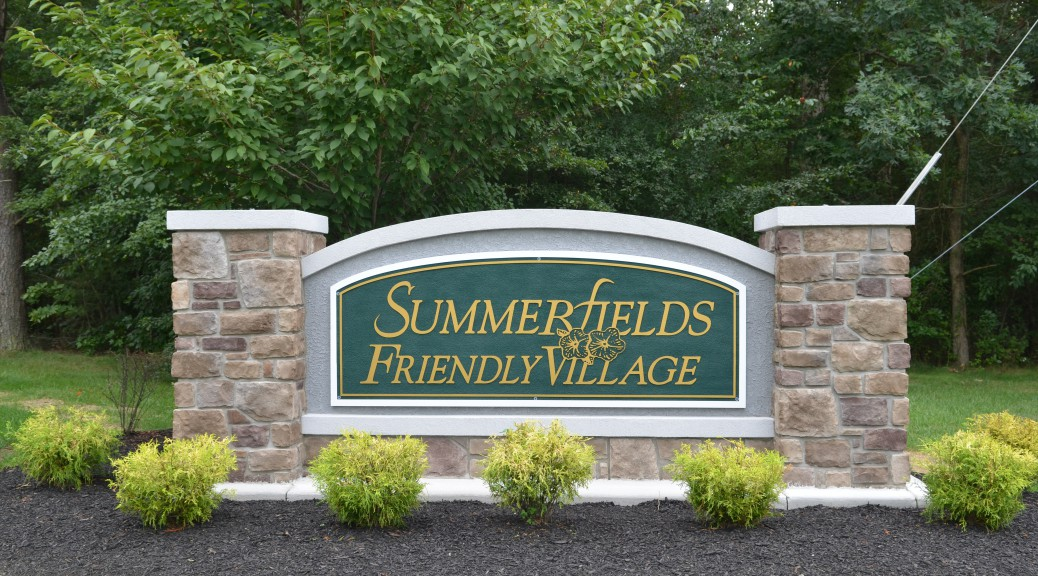 Entrance to Summerfields Friendly Village