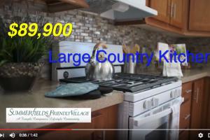 Tamarack model home tour Large Kitchen