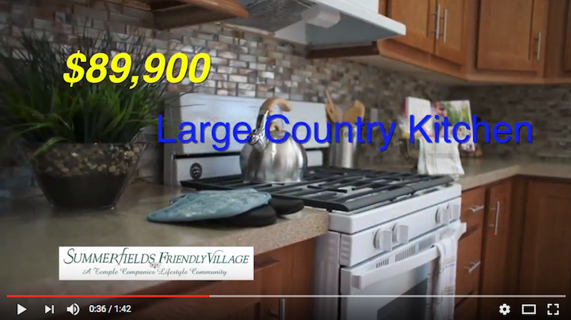 Tamarack model home tour Large Kitchen
