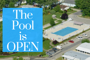 The SFV pool is open