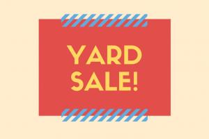 MOHA Yard Sale