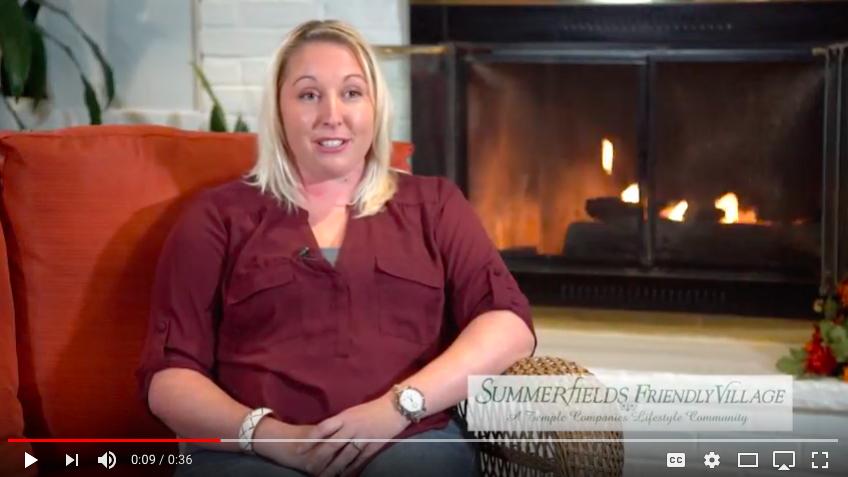 video testimonial quiet clean safe environment that summerfields friendly village provides