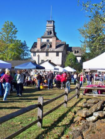 The annual country living fair at batsto village for Where is the horseshoe in country living october 2017