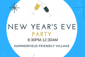 SFV New Year's Eve Party 8:30-12;30