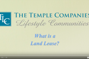 What is a land lease?