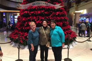 Christmas trip to the Tropicana Casino Girl Friends