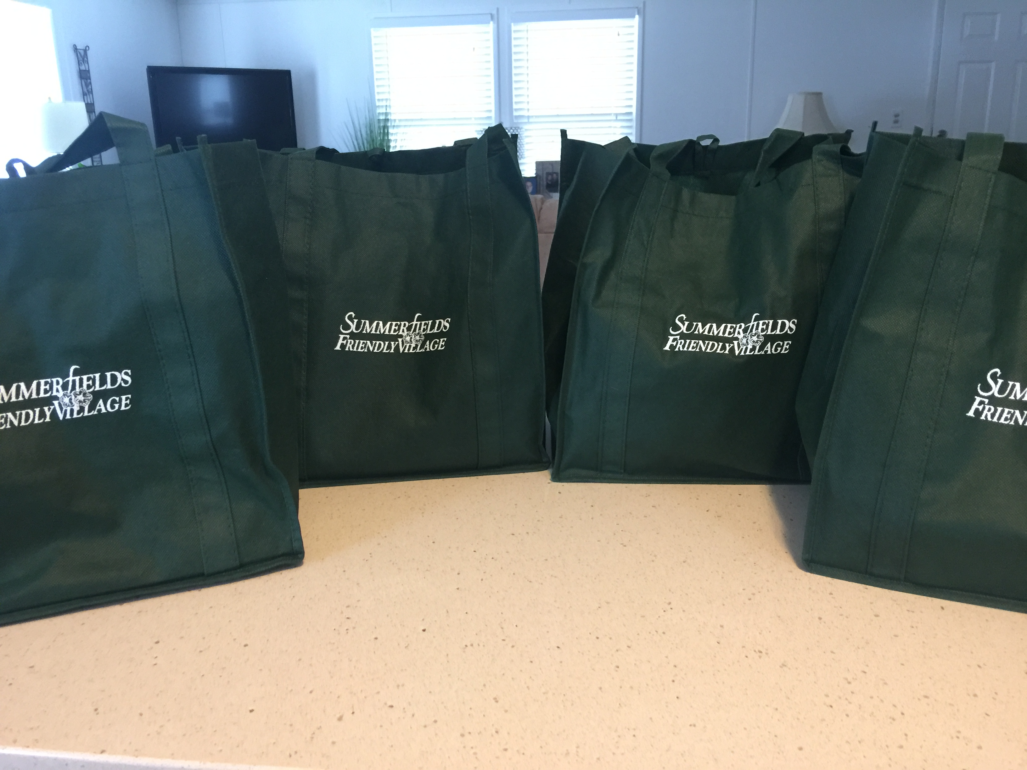 Four Summerfields Friendly Village Welcome Bags