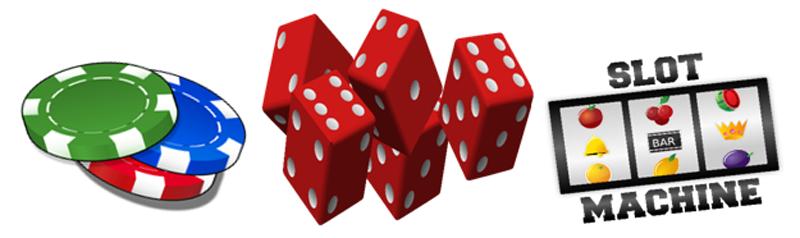 Casino Games Slot Machine Dice Chips