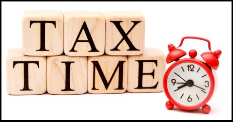 Tax Time with Clock