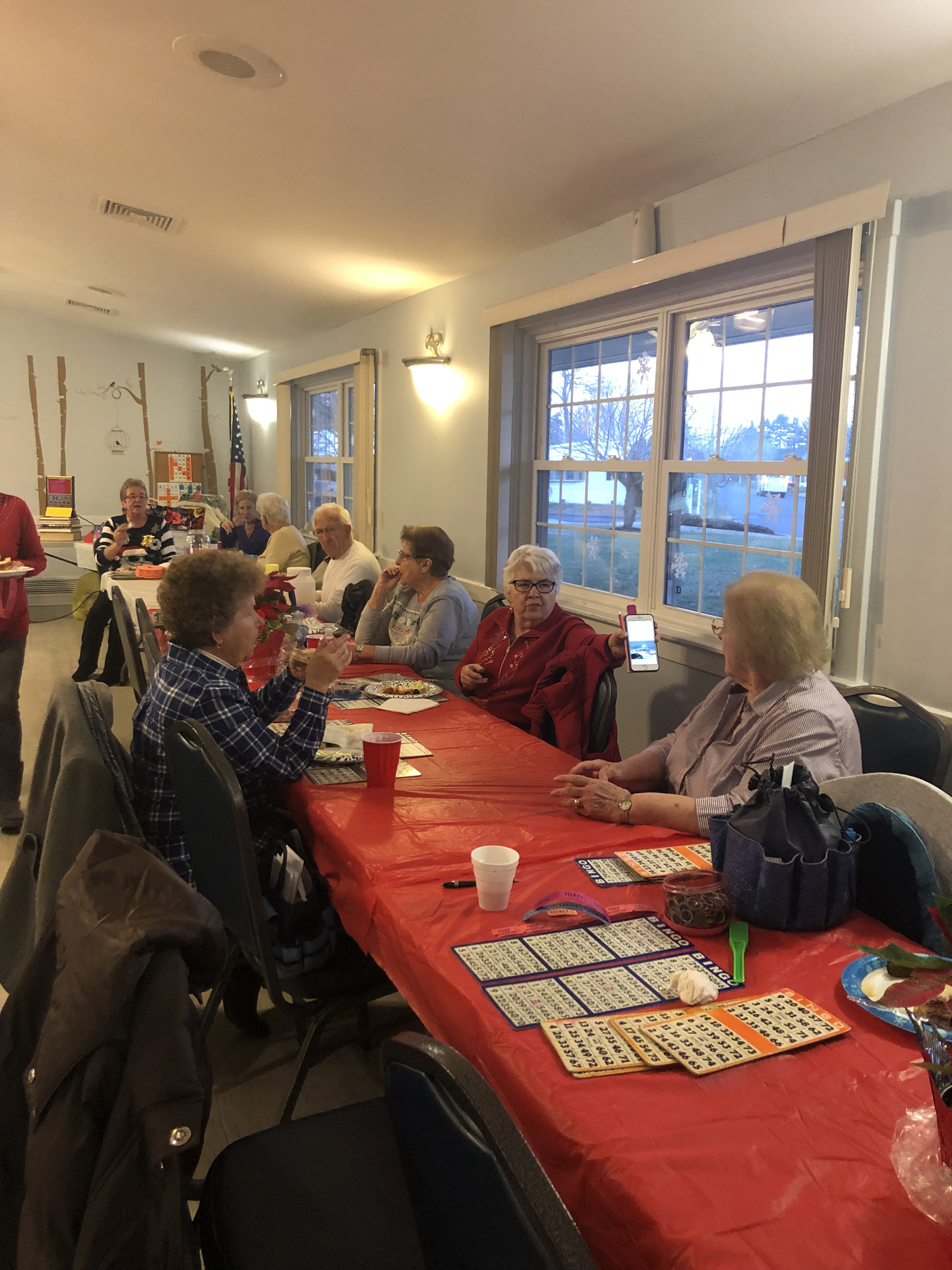 Xmas Bingo Community get together