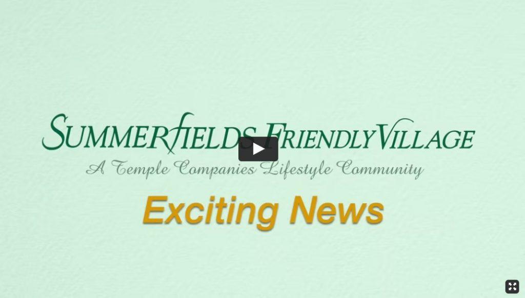 Summerfield's Friendly Village September 2021 EBlast!